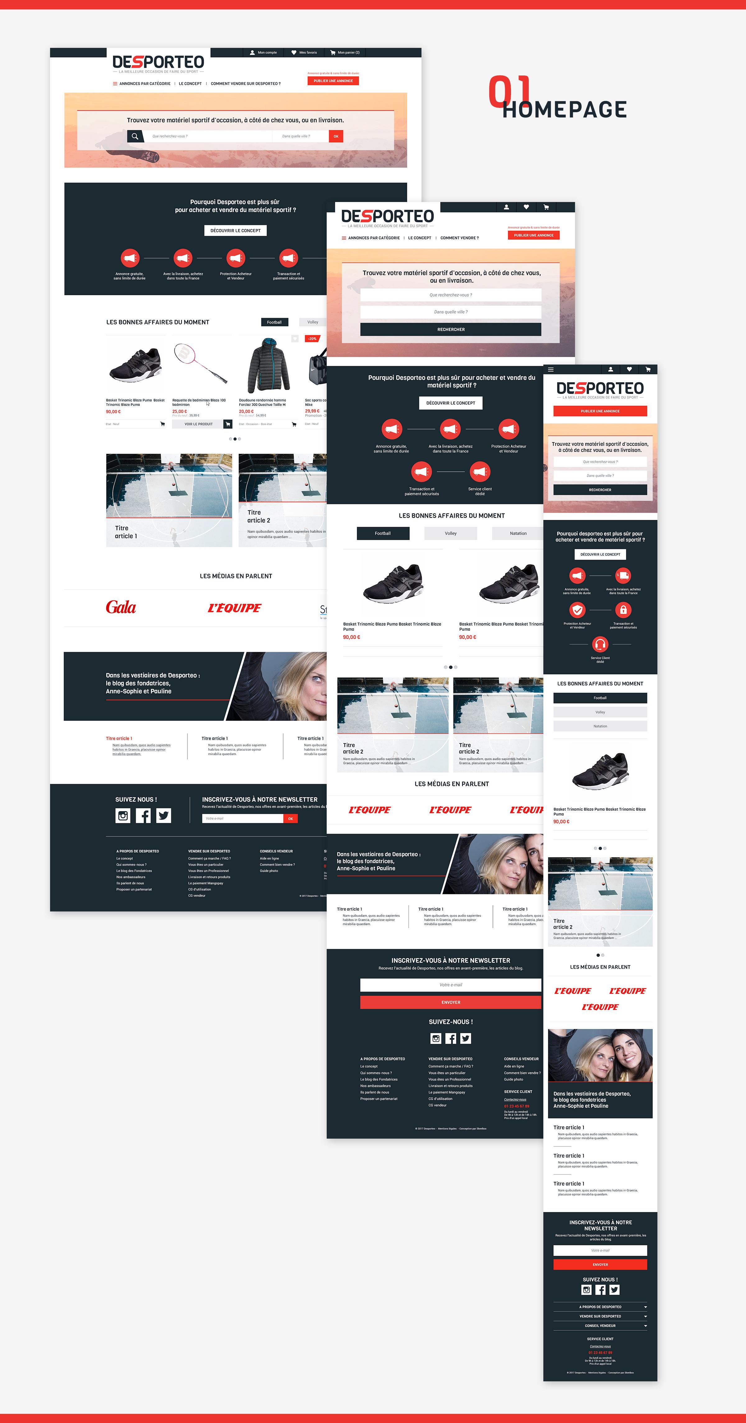 Homepage-desporteo